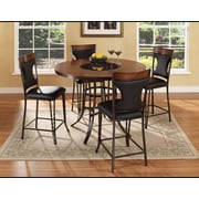 Ultimate Accents Dynasty 5 Piece Counter Height Dining Set
