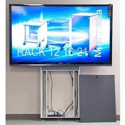 VFI Plasma/LCD/Touch Screen Electric Lift Stand 90'' Floor Stand Mount Flatscreen