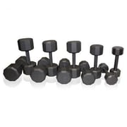 Cap Barbell 280 lbs Dumbbell Set with a Frame Rack