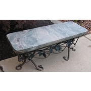 Stone Age Creations Ocean Splash Jade Garden Bench