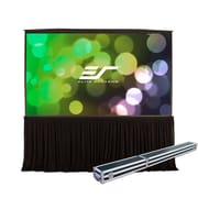 Elite Screens QuickStand White Portable Projection Screen; 150'' Diagonal