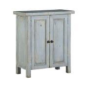 Hillsdale Tuscan Retreat   2 Door Small Cabinet; Grey