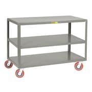 Little Giant USA 24'' x 36'' 3-Shelf Mobile Table