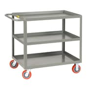 Little Giant USA 24'' x 53.5'' 3-Shelf Welded Utility Cart
