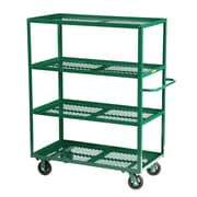 Little Giant USA 30'' x 65.5'' Multi-Shelf Steel Utility Cart
