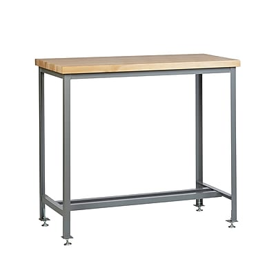 Little Giant USA Butcher Block Top Workbench; 42'' H x 72'' W x 36'' D