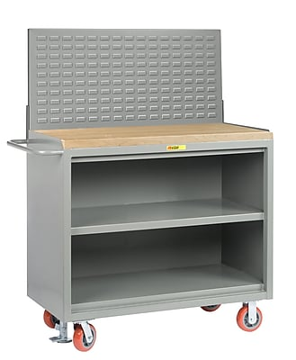 Little Giant USA Mobile Service Butcher Block Workbench