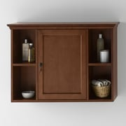 Ronbow Traditional Bathroom Wall Cabinet in Colonial Cherry