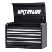 Waterloo Industries Professional HD Series 36''W 5-Drawer Top Chest; Black