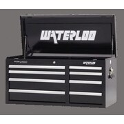 Waterloo Industries Professional Series 40.5''W 8-Drawer Top Chest; Black