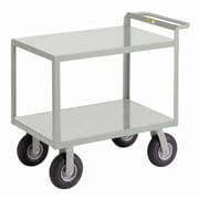 Little Giant USA 24'' x 53.5'' Cushion-Load Merchandise Collector Utility Cart
