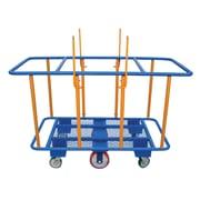 Vestil 41'' x 29'' x 64'' 2K lbs Horizontal Panel Cart