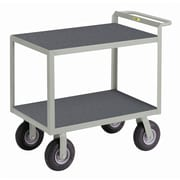 Little Giant USA 30'' x 53.5'' Utility Cart with Hand Guard with Non-Slip Vinyl Matting