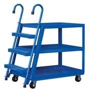 Vestil 3 Shelf Stock Picker Utility Cart