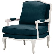 Wholesale Interiors Baxton Studio Antoinette Arm Chair; Azure
