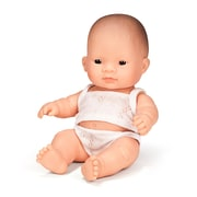 "Miniland Educational Newborn Baby Doll Asian Boy (8 1/4""), *31125)"
