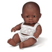 "Miniland Educational Newborn Baby Doll Hispanic (8 1/4""), (31127)"