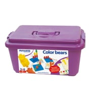 Miniland Educational Connecting Bears (108 Pieces) / Container, Multicolor (31786)