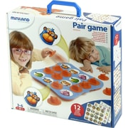 Miniland Educational Pair Game , Blue and Orange (31920)
