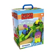 Miniland Educational Super Blocks - Jumpy, Multicolor (32346)