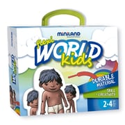 Miniland Educational Flexi World Kids, Multicolor (36061)