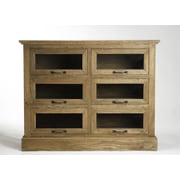 Zentique Inc. Battier 6 Drawer Chest