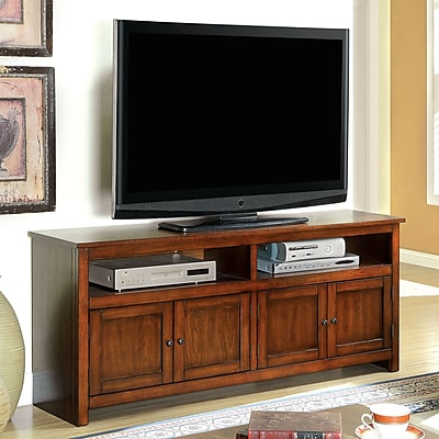 Hokku Designs Morritz TV Stand; Antique Oak