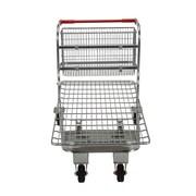 Vestil 36.75'' x 28.75'' x 59.25'' Nestable Wire Cart