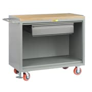 Little Giant USA 43.5'' x 53.5'' x 24'' Mobile Bench Cabinet with Heavy-Duty Drawer