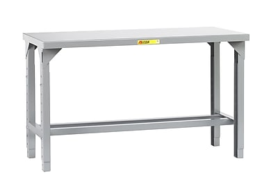 Little Giant USA Adjustable Height Welded Steel Workbench; 72'' W x 36'' D