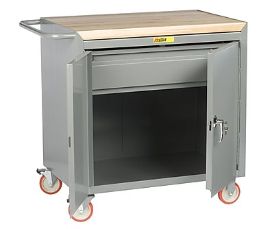 Little Giant USA Mobile Butcher Block Workbench