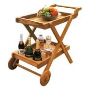 D-Art Collection Buttlers Serving Cart