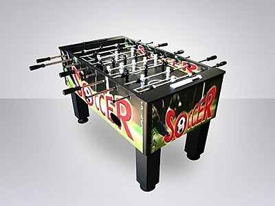 Beliani Football\/Soccer Foosball Game Table