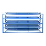 Vestil 2000 lbs 5-Shelf Horizontal Sheet Rack