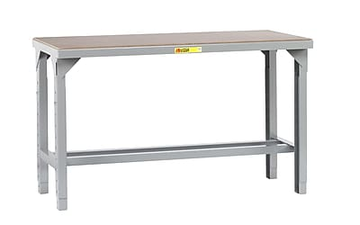 Little Giant USA Welded Steel with Hardboard over Steel Top Workbench; 41'' H x 84'' W x 36'' D