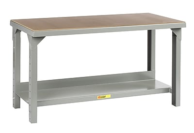 Little Giant USA Welded Steel Hardboard over Steel Top Workbench; 41'' H x 84'' W x 36'' D