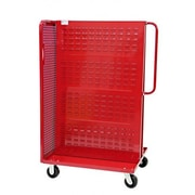 Valley Craft Modular 62'' x 48'' x 30'' A-Frame Bin Cart; Red