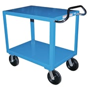 Vestil Heavy Duty 48'' Ergo Handle Utility Cart