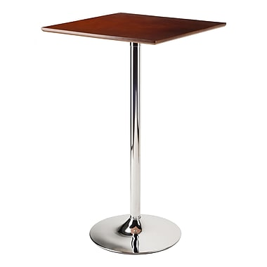 Winsome Kallie Pub Table Bar Height, Cappuccino Finish, (93523)