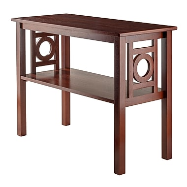 Winsome Ollie Console Table, Walnut Finish, (94041)