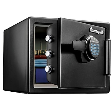 sentry safe sfw082f water resistant fire security safe staples. Black Bedroom Furniture Sets. Home Design Ideas