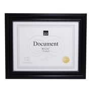 "Kiera Grace Lucy Document Frame, 8.5"" x 11"", Black, Silver Beading, 12/Pack (PH43896-6MC)"