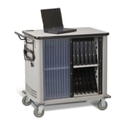 Datum Storage 20-Compartment Laptop Storage Cart