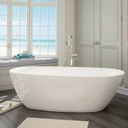 A&E Bath and Shower Sequana 71'' x 21'' Soaking Bathtub Kit
