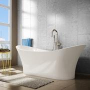 A&E Bath and Shower Evita 69'' x 27'' Soaking Bathtub
