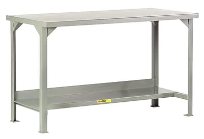 Little Giant USA Fixed Height Welded Steel Workbench; 36'' H x 84'' W x 36'' D