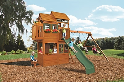 Big Backyard Somerset Lodge Swing Set