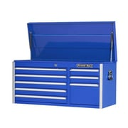 Extreme Tools 41.5'' Wide 8 Drawer Professional Top Cabinet; Blue