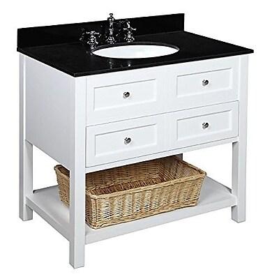 KBC New Yorker 36'' Single Bathroom Vanity Set WYF078277443959