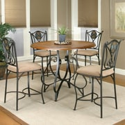 Sunset Trading Vail 5 Piece Counter Height Dining Set